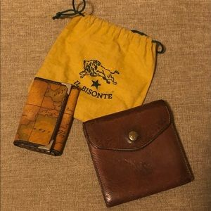Vintage Wallet combo Real Leather